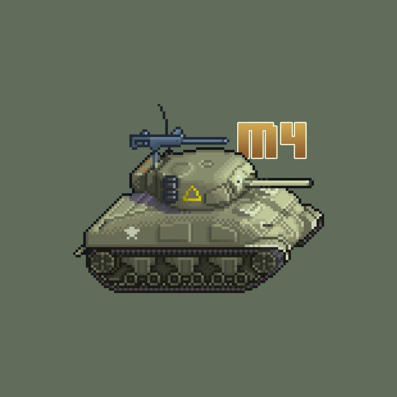 M4 Sherman by Pixel Panzers's Merchandise