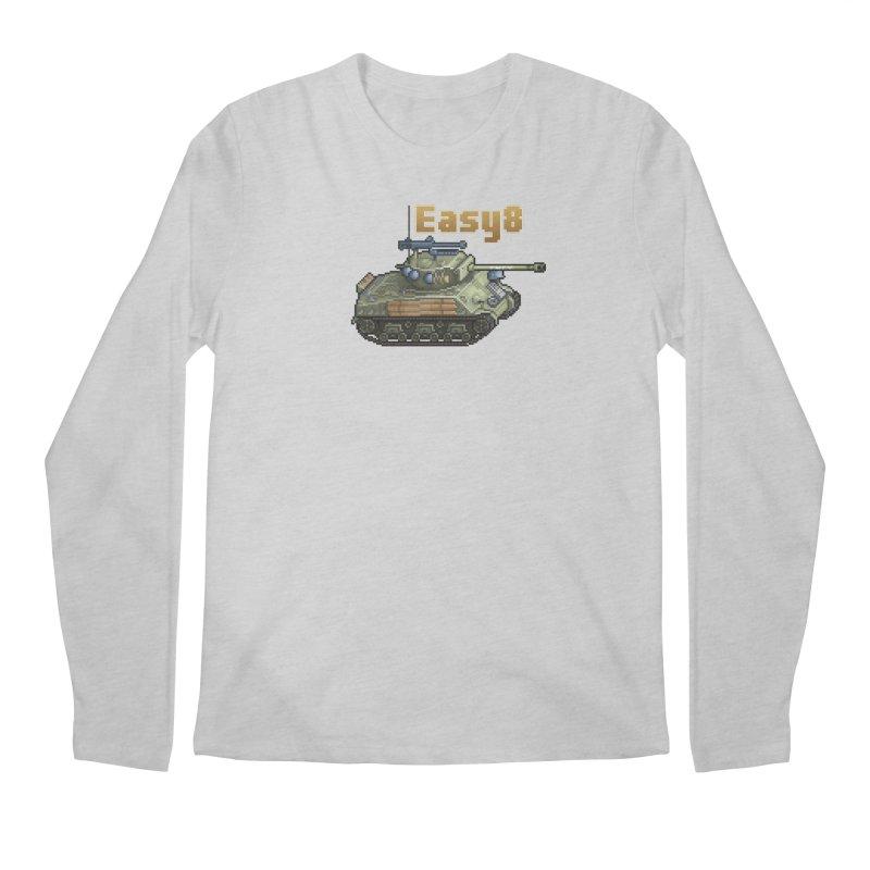 Easy 8 (M4A3E8) Sherman Men's Regular Longsleeve T-Shirt by Pixel Panzers's Merchandise