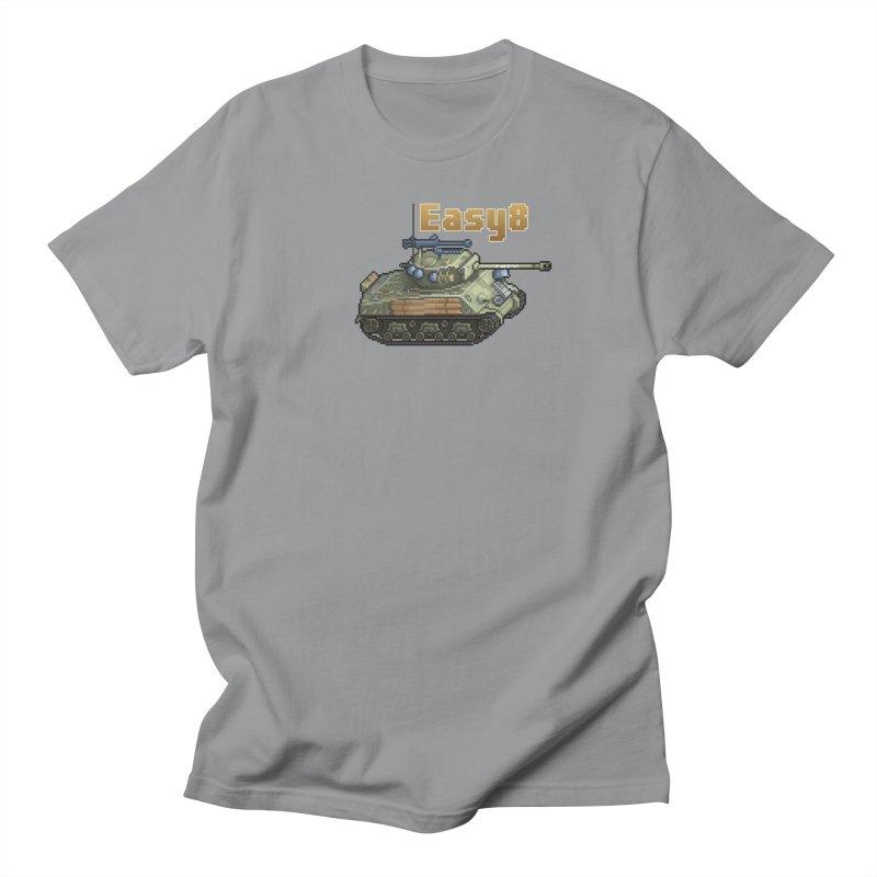 Easy 8 (M4A3E8) Sherman Men's T-Shirt by Pixel Panzers's Merchandise