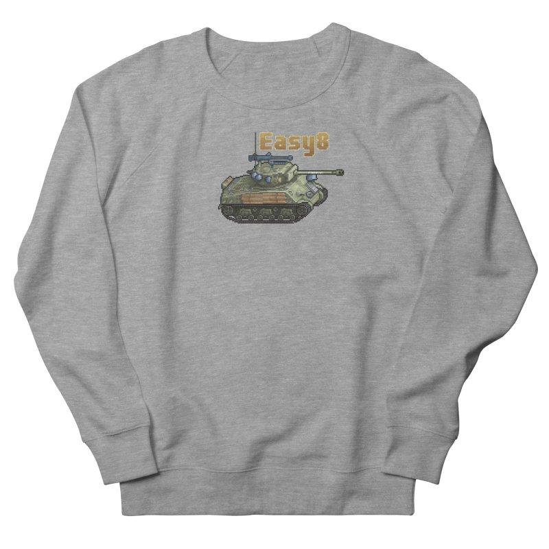 Easy 8 (M4A3E8) Sherman Men's French Terry Sweatshirt by Pixel Panzers's Merchandise