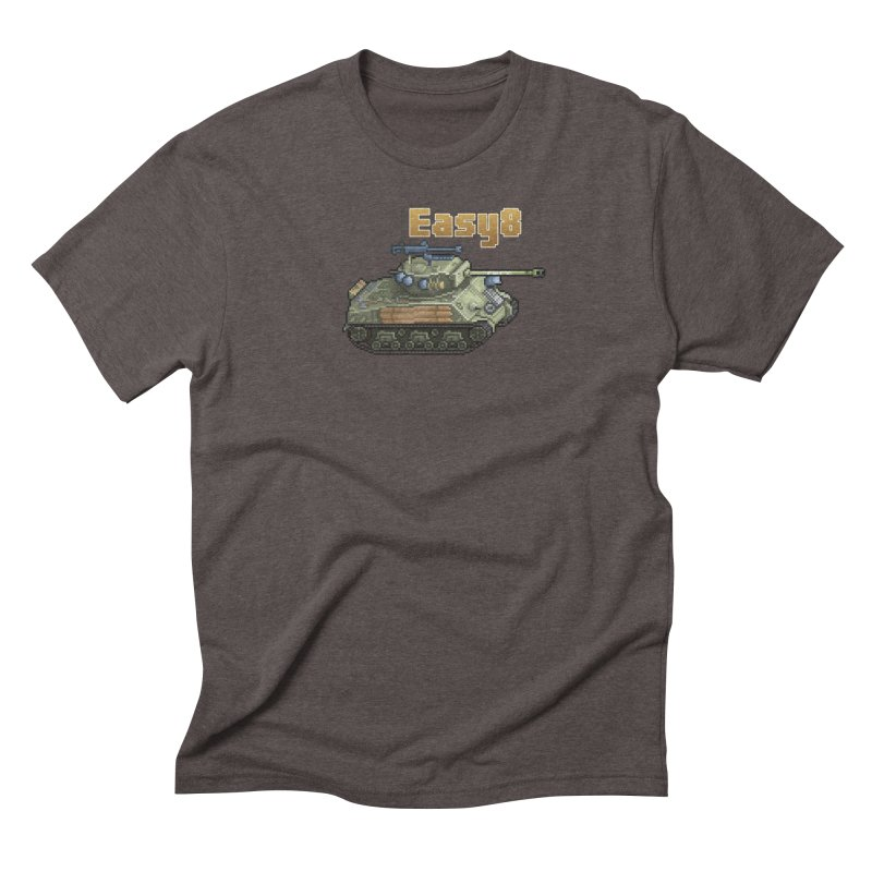 Easy 8 (M4A3E8) Sherman Men's Triblend T-Shirt by Pixel Panzers's Merchandise