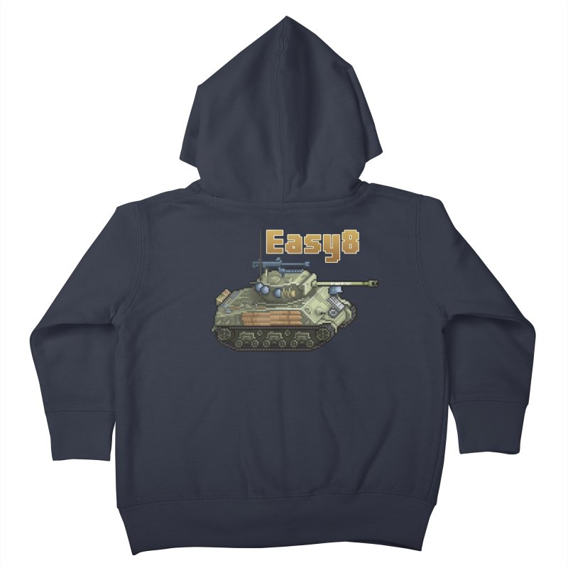 Easy 8 (M4A3E8) Sherman Kids Toddler Zip-Up Hoody by Pixel Panzers's Merchandise