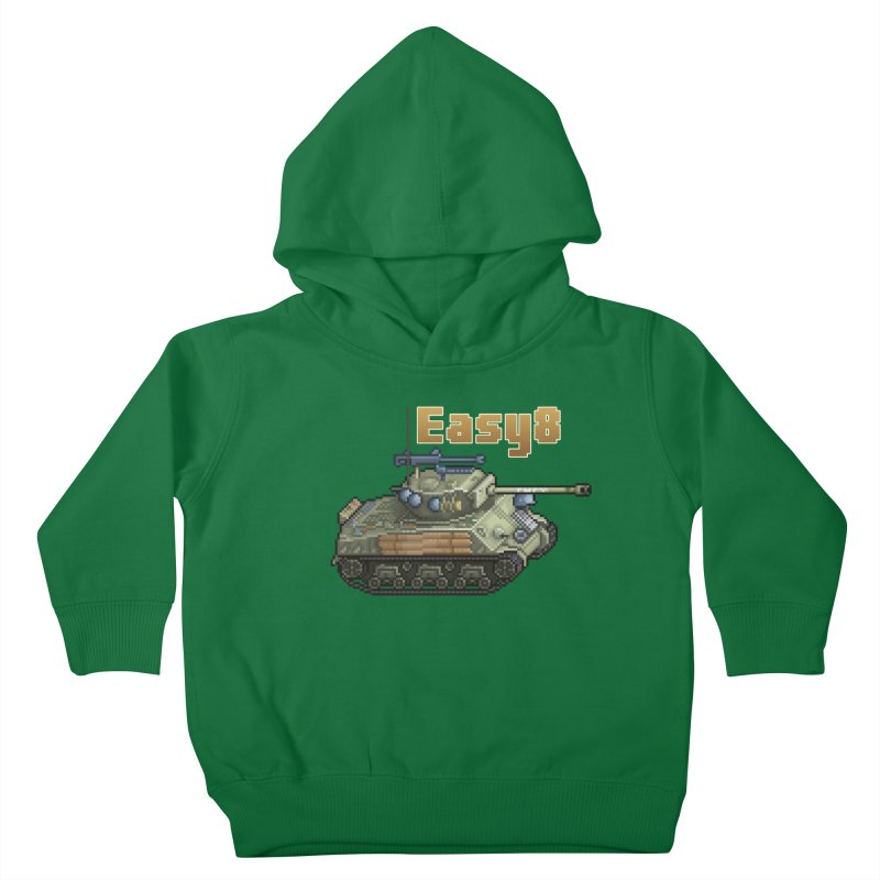 Easy 8 (M4A3E8) Sherman Kids Toddler Pullover Hoody by Pixel Panzers's Merchandise