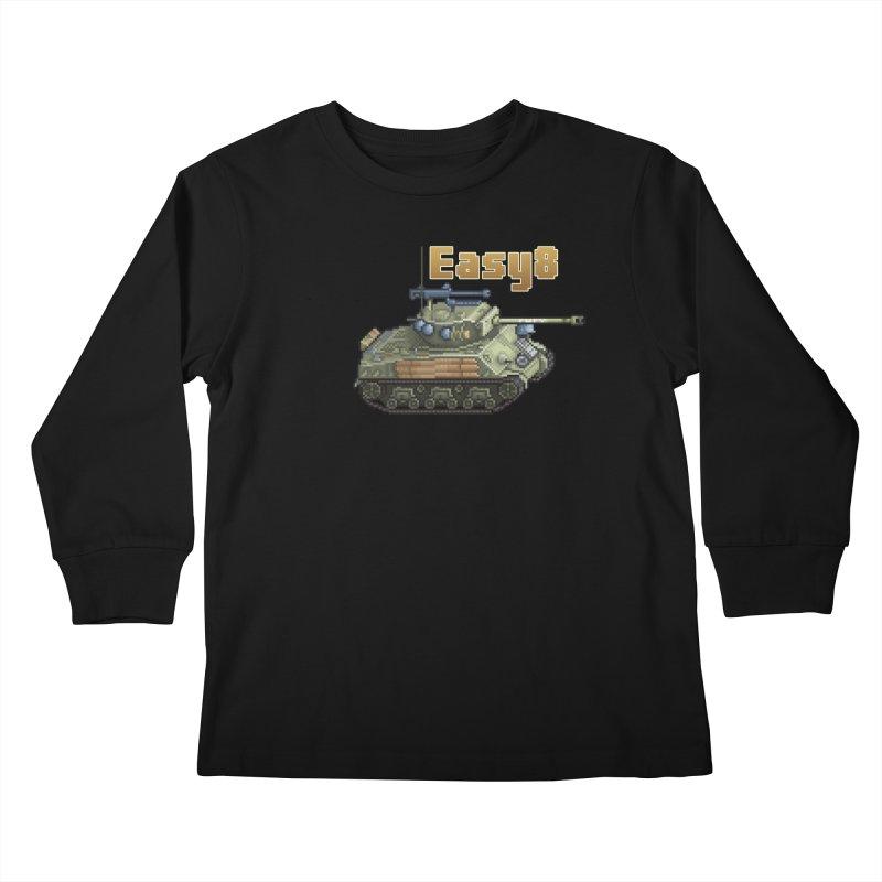 Easy 8 (M4A3E8) Sherman Kids Longsleeve T-Shirt by Pixel Panzers's Merchandise