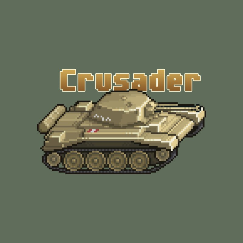 Crusader Men's Sweatshirt by Pixel Panzers's Merchandise