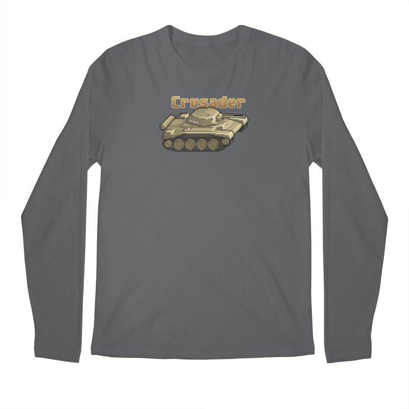 Crusader Men's Regular Longsleeve T-Shirt by Pixel Panzers's Merchandise