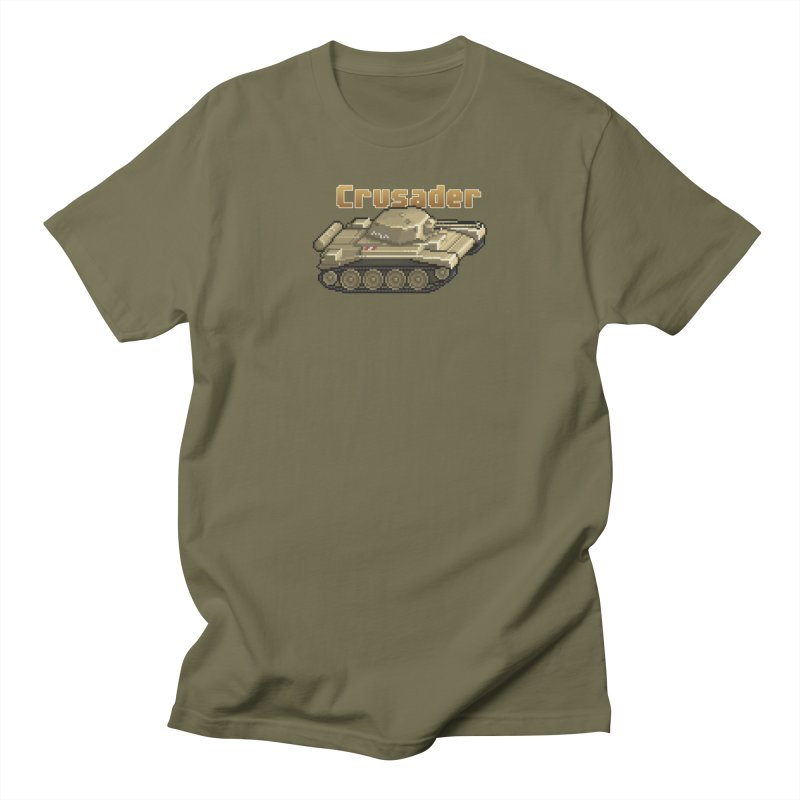 Crusader Men's T-Shirt by Pixel Panzers's Merchandise