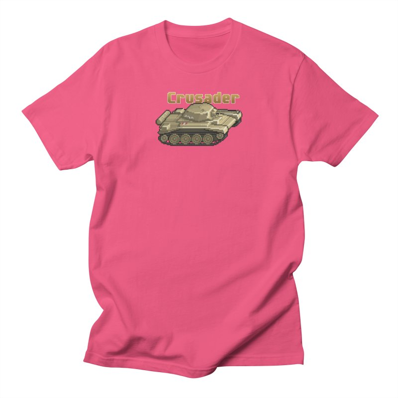 Crusader Men's Regular T-Shirt by Pixel Panzers's Merchandise