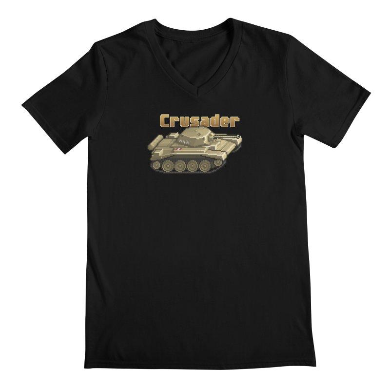 Crusader Men's Regular V-Neck by Pixel Panzers's Merchandise