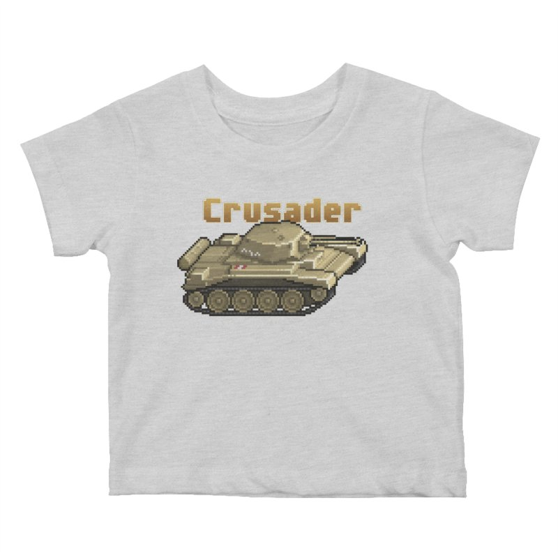 Crusader Kids Baby T-Shirt by Pixel Panzers's Merchandise