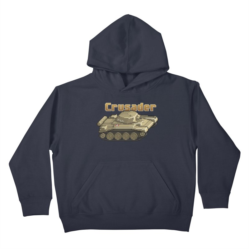 Crusader Kids Pullover Hoody by Pixel Panzers's Merchandise