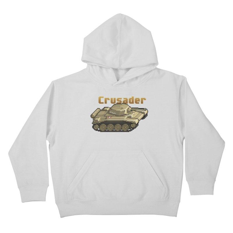 Crusader Kids Pullover Hoody by Pixel Panzers's Merchandise