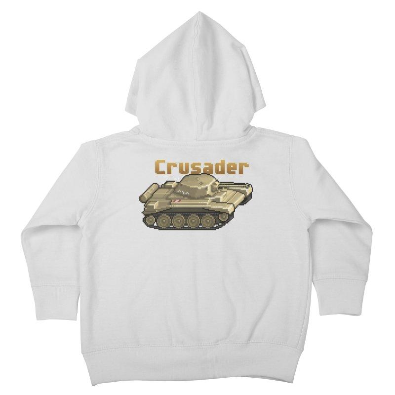 Crusader Kids Toddler Zip-Up Hoody by Pixel Panzers's Merchandise