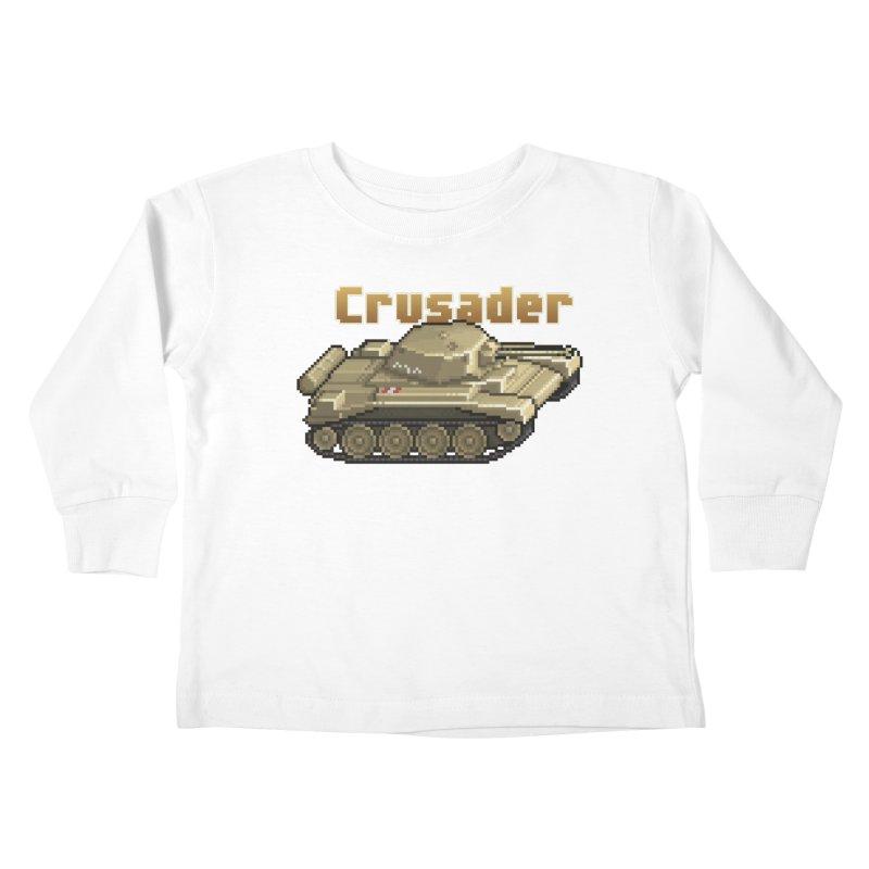 Crusader Kids Toddler Longsleeve T-Shirt by Pixel Panzers's Merchandise