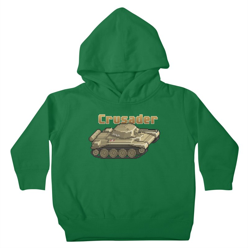 Crusader Kids Toddler Pullover Hoody by Pixel Panzers's Merchandise