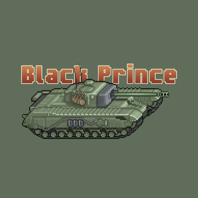 Churchill Black Prince (Prototype) by Pixel Panzers's Merchandise