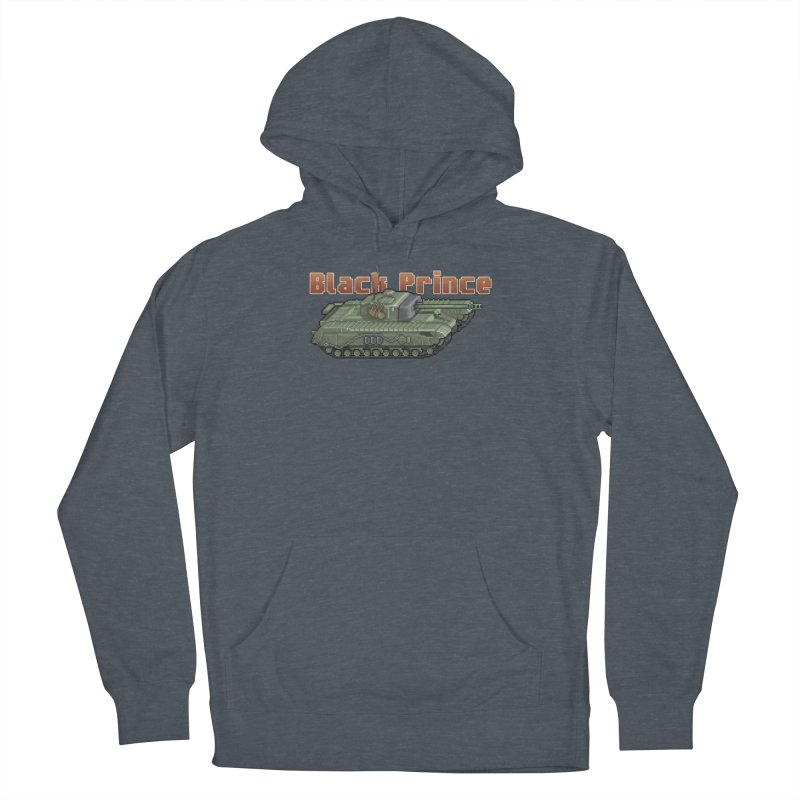 Churchill Black Prince (Prototype) Men's French Terry Pullover Hoody by Pixel Panzers's Merchandise