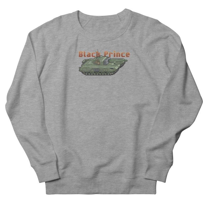 Churchill Black Prince (Prototype) Men's French Terry Sweatshirt by Pixel Panzers's Merchandise