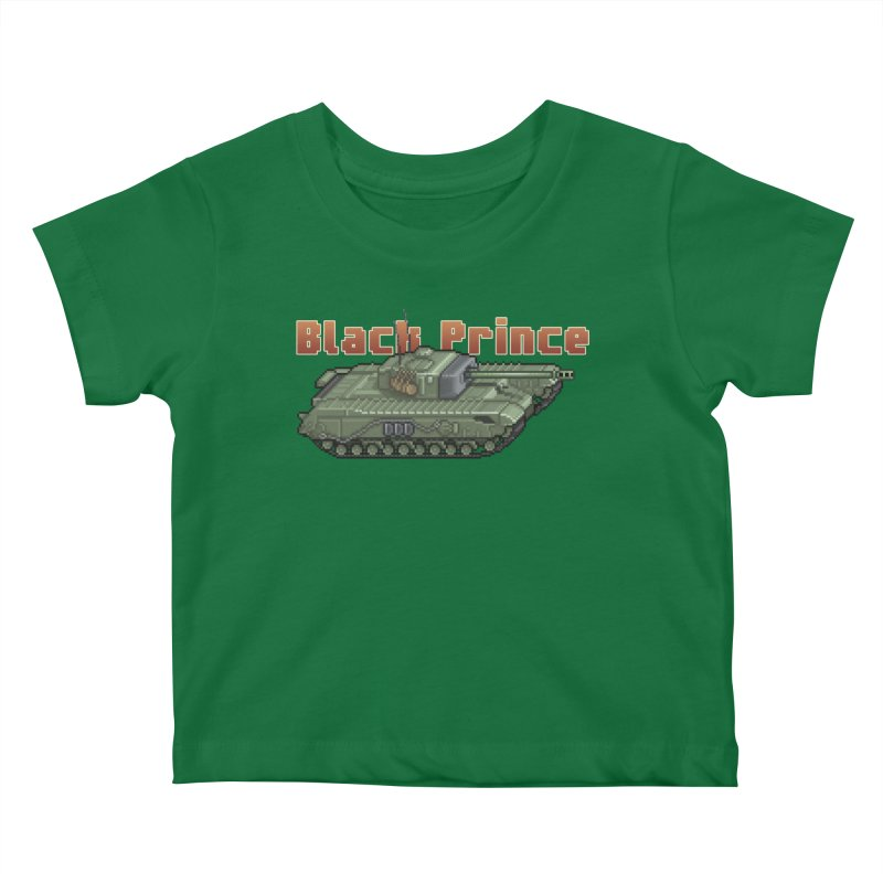 Churchill Black Prince (Prototype) Kids Baby T-Shirt by Pixel Panzers's Merchandise
