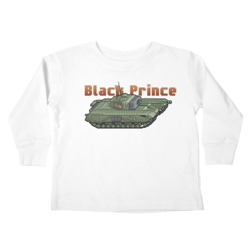 Churchill Black Prince (Prototype) Kids Toddler Longsleeve T-Shirt by Pixel Panzers's Merchandise