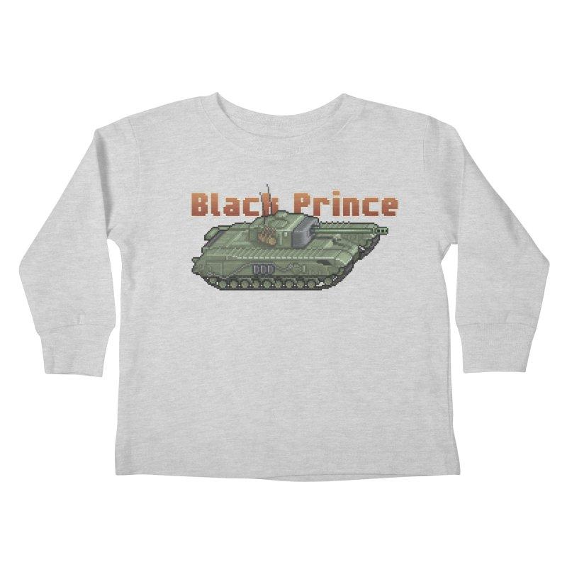 Churchill Black Prince (Prototype) Kids Toddler Longsleeve T-Shirt by Pixel Panzers's Merchandise