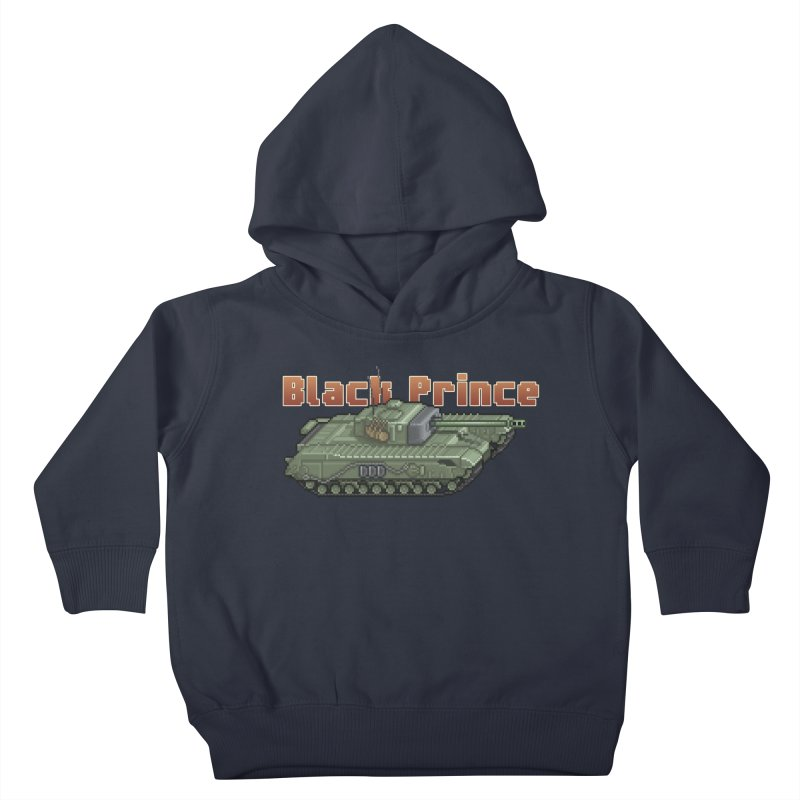 Churchill Black Prince (Prototype) Kids Toddler Pullover Hoody by Pixel Panzers's Merchandise