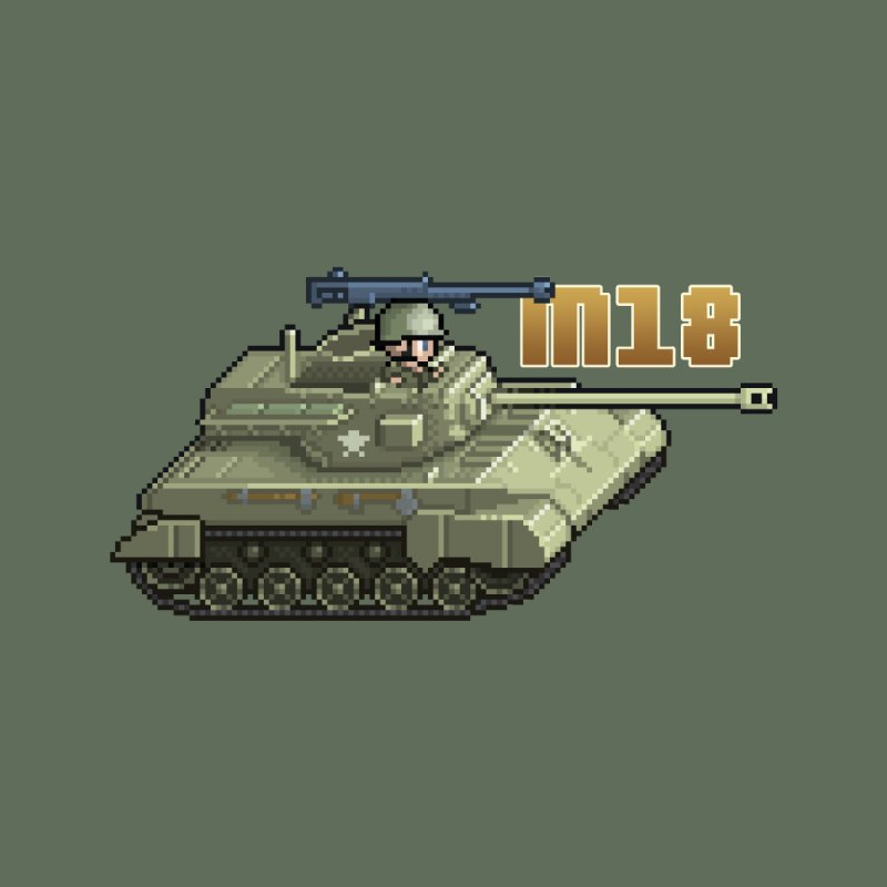 M18 Hellcat by Pixel Panzers's Merchandise