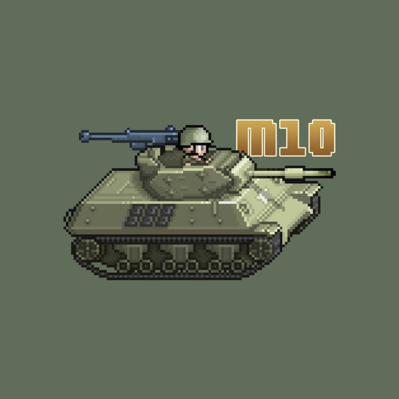 M10 Wolverine by Pixel Panzers's Merchandise