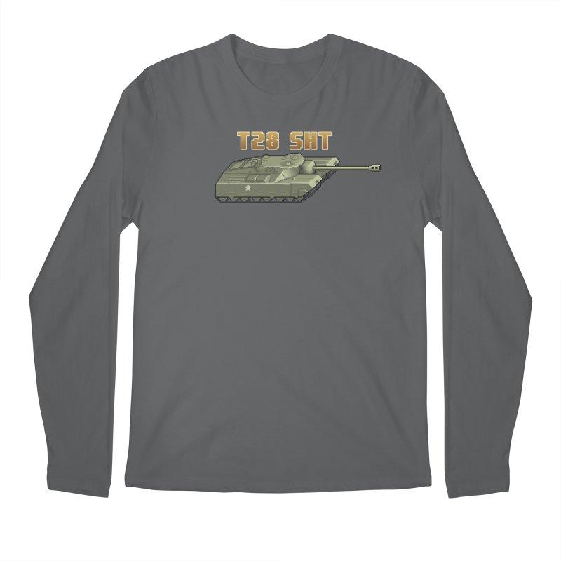 T28 SHT Men's Regular Longsleeve T-Shirt by Pixel Panzers's Merchandise
