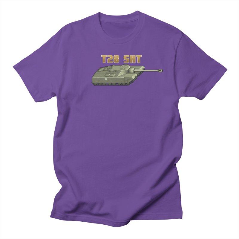 T28 SHT Men's T-Shirt by Pixel Panzers's Merchandise