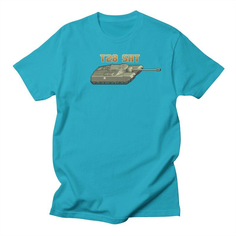 T28 SHT Men's Regular T-Shirt by Pixel Panzers's Merchandise