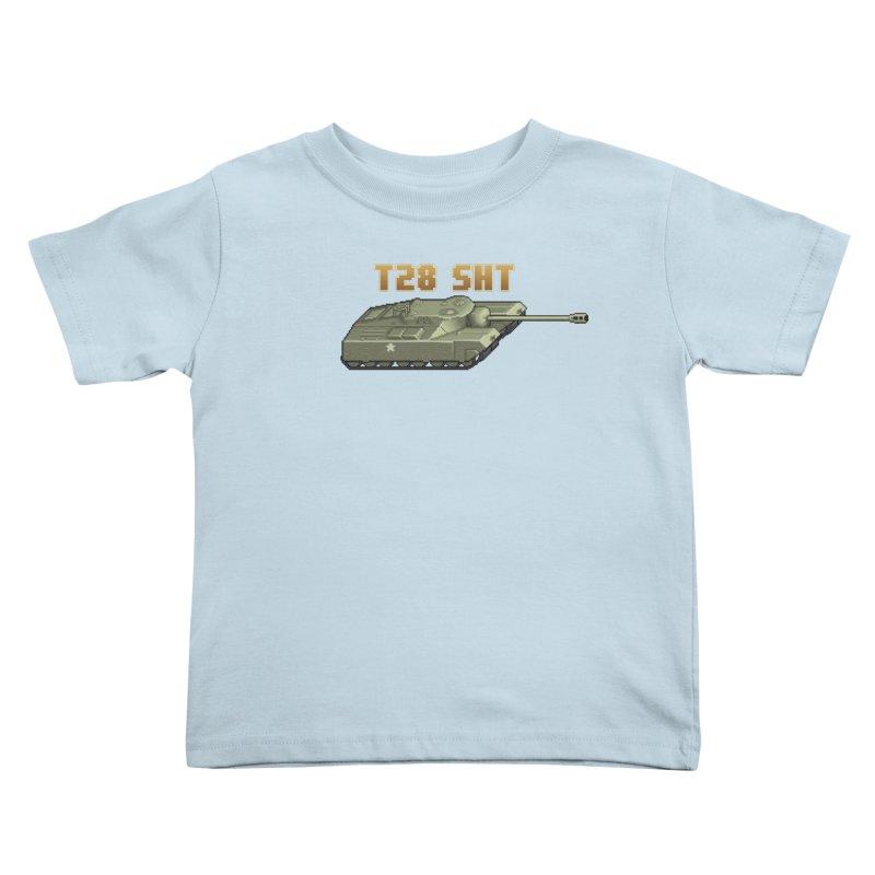 T28 SHT Kids Toddler T-Shirt by Pixel Panzers's Merchandise