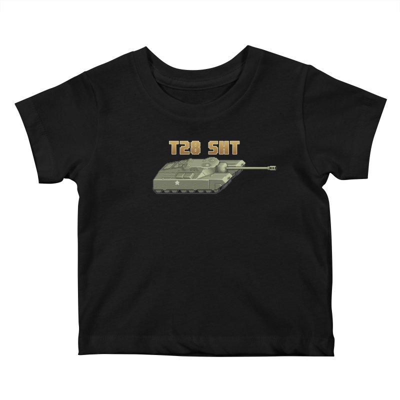 T28 SHT Kids Baby T-Shirt by Pixel Panzers's Merchandise