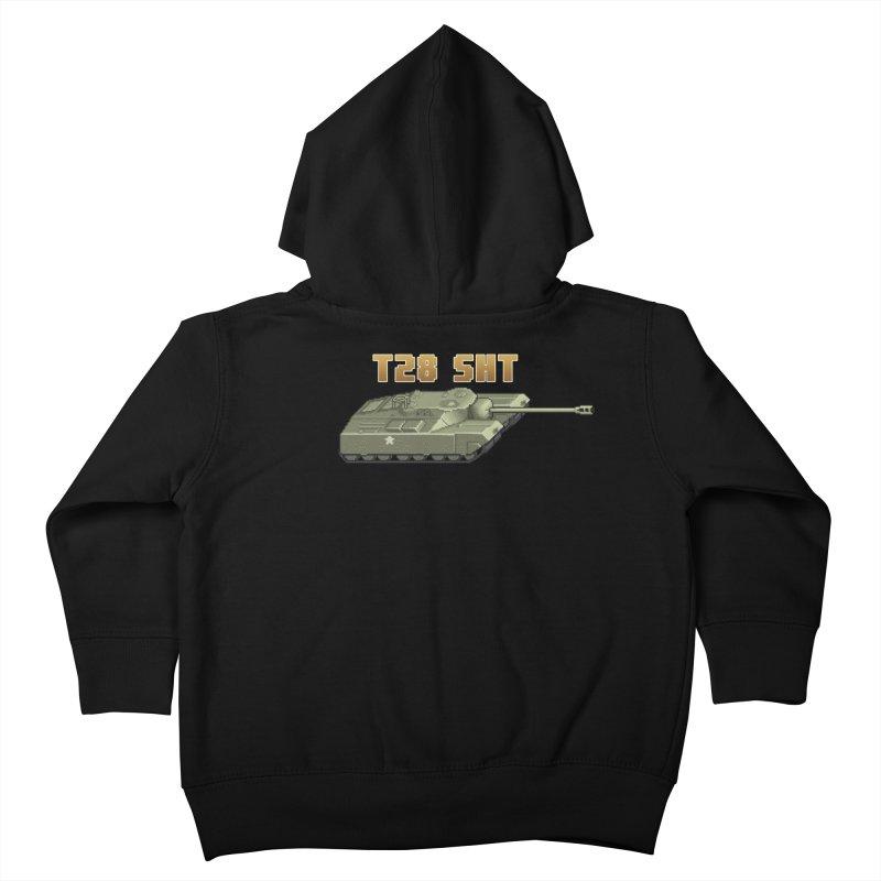 T28 SHT Kids Toddler Zip-Up Hoody by Pixel Panzers's Merchandise