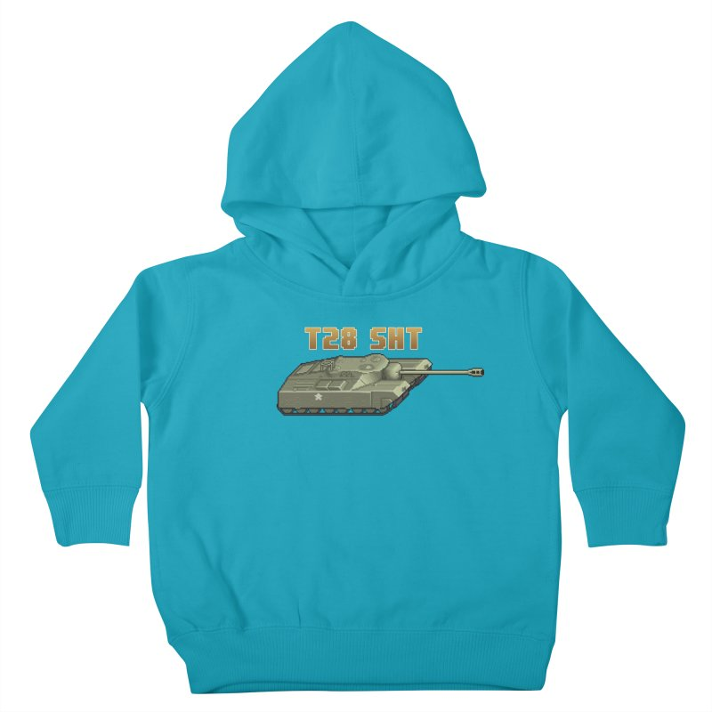 T28 SHT Kids Toddler Pullover Hoody by Pixel Panzers's Merchandise