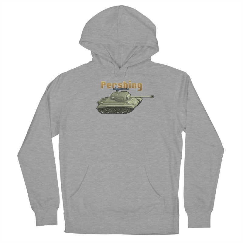 Pershing Men's French Terry Pullover Hoody by Pixel Panzers's Merchandise