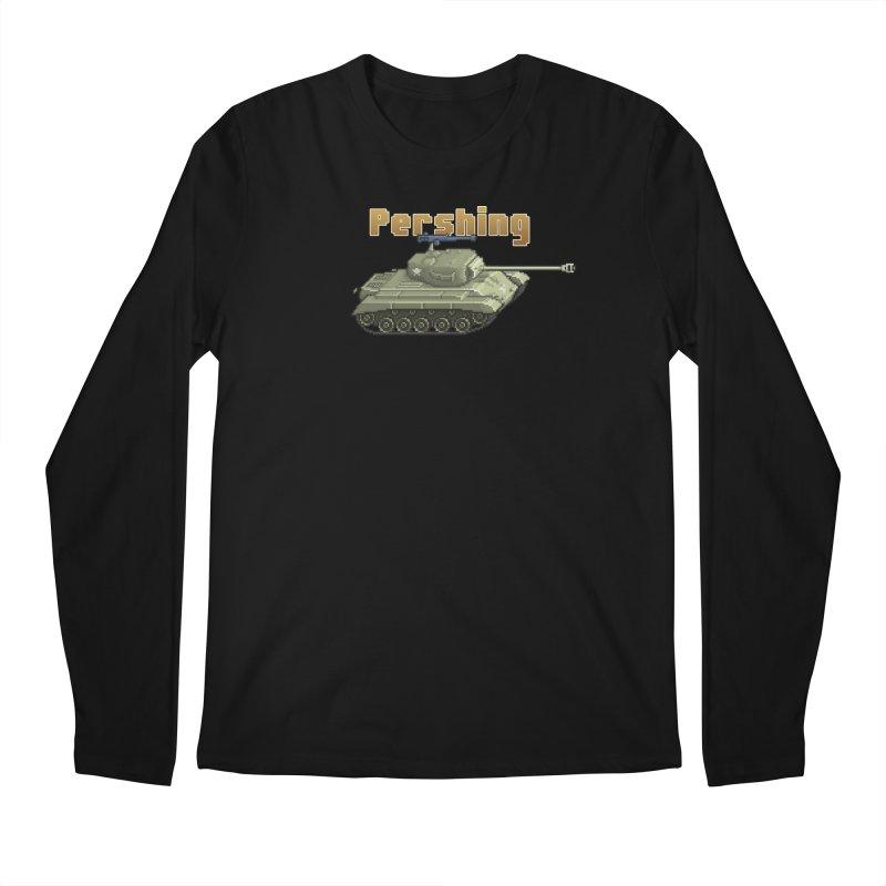Pershing Men's Regular Longsleeve T-Shirt by Pixel Panzers's Merchandise