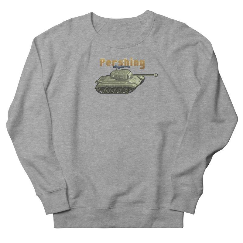 Pershing Men's Sweatshirt by Pixel Panzers's Merchandise