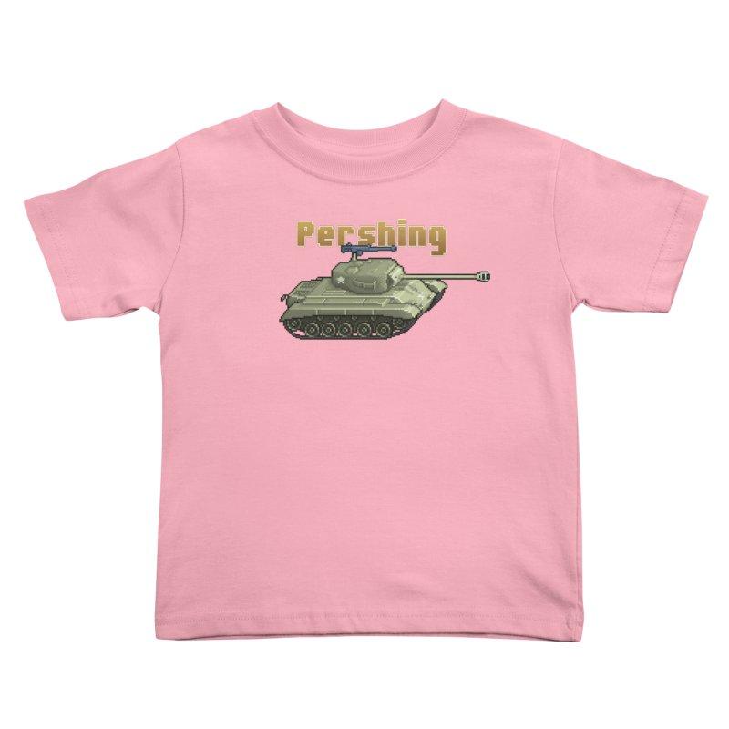 Pershing Kids Toddler T-Shirt by Pixel Panzers's Merchandise