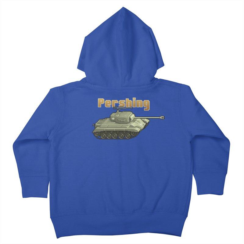 Pershing Kids Toddler Zip-Up Hoody by Pixel Panzers's Merchandise