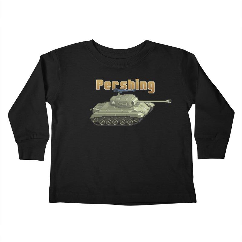 Pershing Kids Toddler Longsleeve T-Shirt by Pixel Panzers's Merchandise