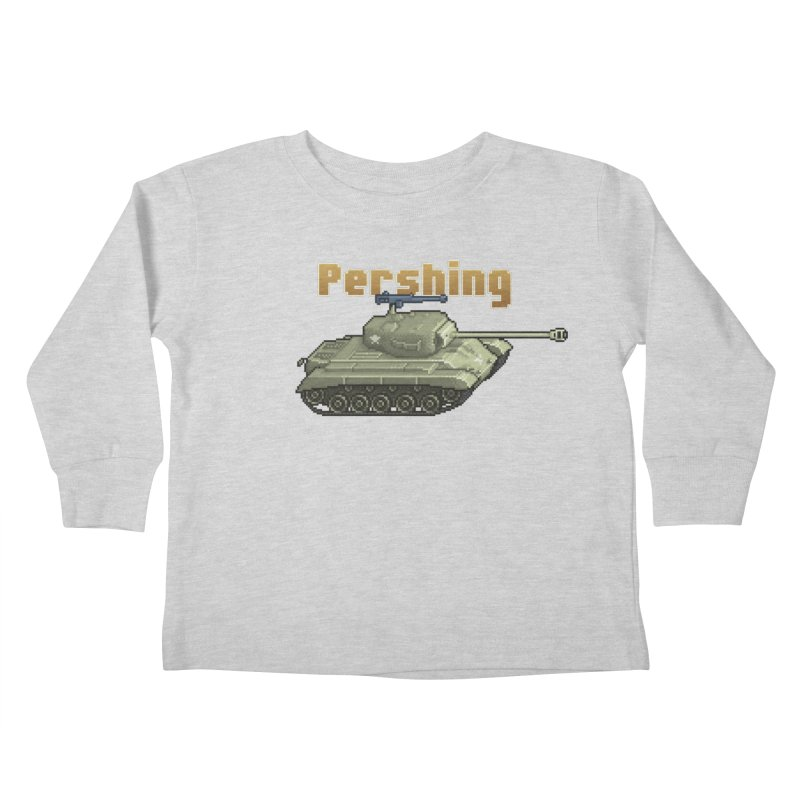 Pershing Kids Toddler Longsleeve T-Shirt by Pixel Panzers's Merchandise