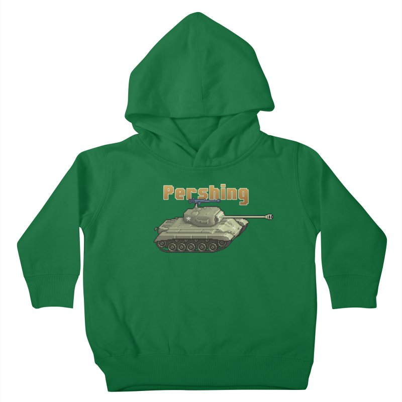 Pershing Kids Toddler Pullover Hoody by Pixel Panzers's Merchandise