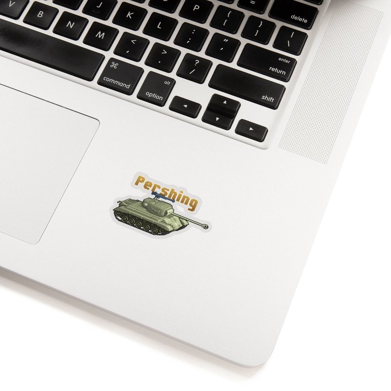 Pershing Accessories Sticker by Pixel Panzers's Merchandise