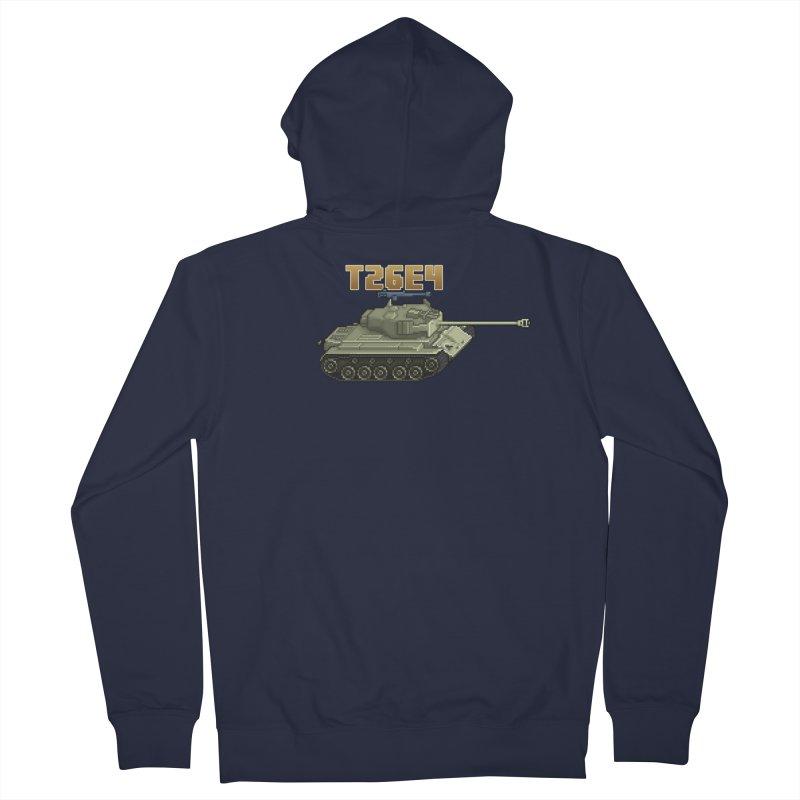 T26E4 Men's Zip-Up Hoody by Pixel Panzers's Merchandise