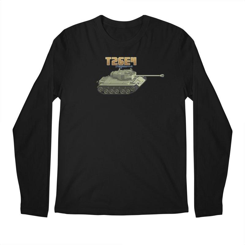 T26E4 Men's Regular Longsleeve T-Shirt by Pixel Panzers's Merchandise