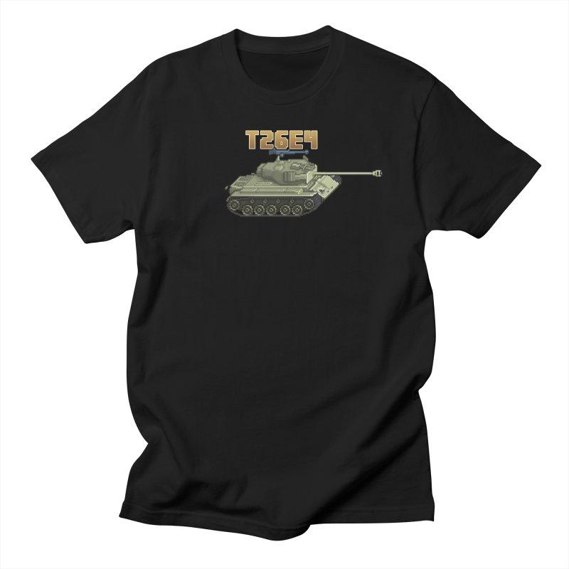 T26E4 Men's Regular T-Shirt by Pixel Panzers's Merchandise