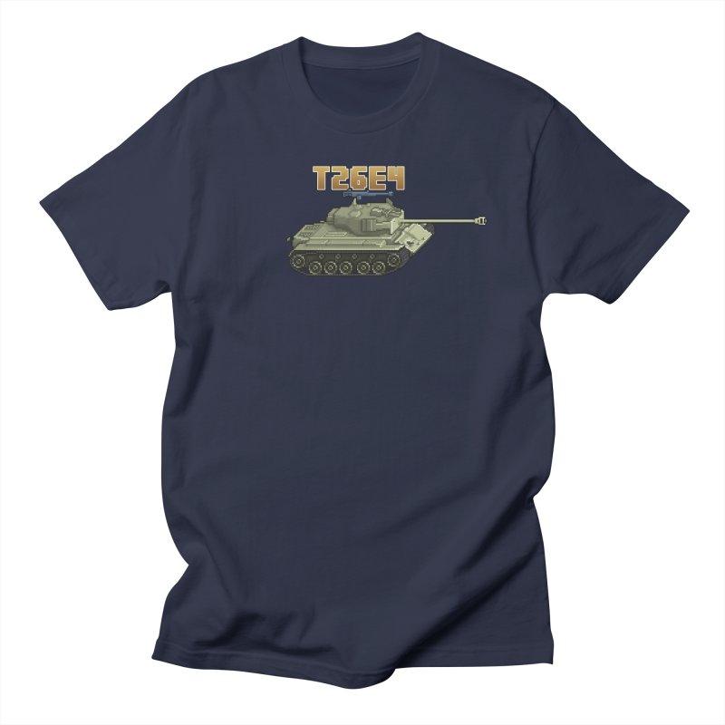T26E4 Men's T-Shirt by Pixel Panzers's Merchandise