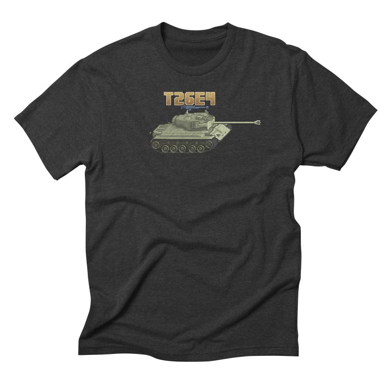 T26E4 Men's Triblend T-Shirt by Pixel Panzers's Merchandise