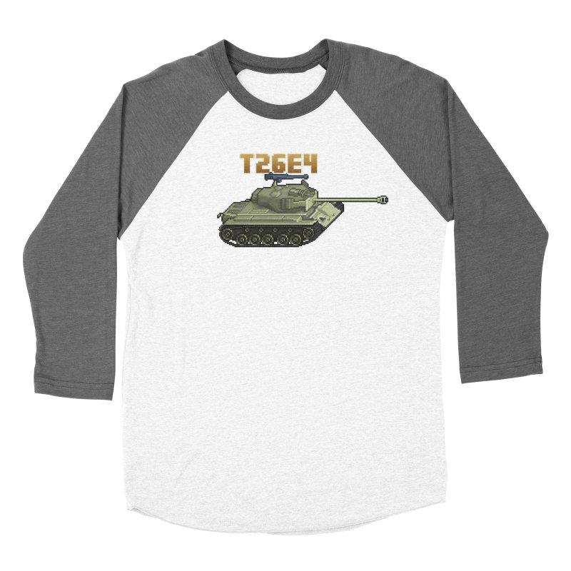 T26E4 Men's Baseball Triblend Longsleeve T-Shirt by Pixel Panzers's Merchandise